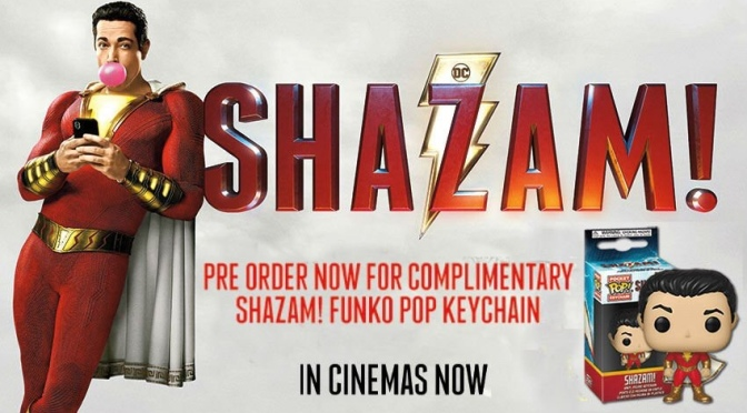 Shazam! Now Available To Pre-Order on Blu-Ray and DVD