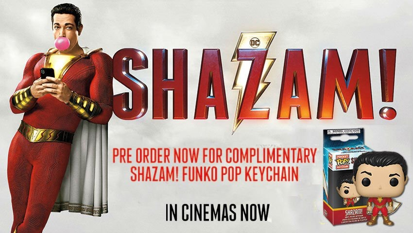 Shazam! Now Available To Pre-Order