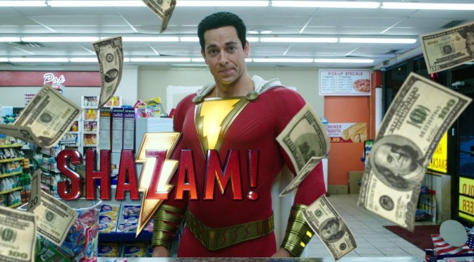 Box Office|Shazam Conjurs Up Second Winning Weekend Win