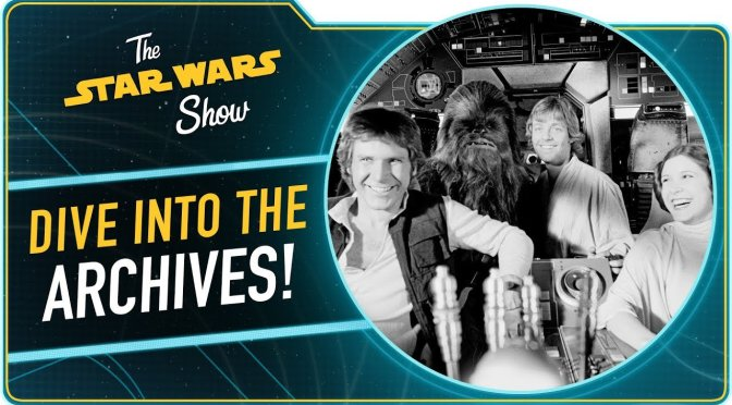 The Star Wars Show | Author Paul Duncan Talks Star Wars Archives & Celebration Exclusives First Look!