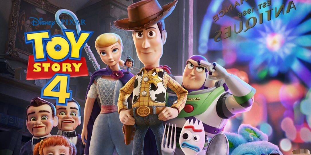 Reunited. Woody, Buzz And Co Return In A New Toy Story 4 Poster Reveal
