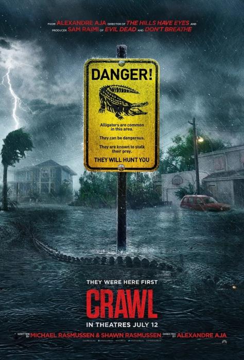 Crawl  Alligators Run Amok in the Trailer Sam Raimi's New Horror