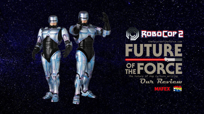 Mafex Review   Robocop 2 (Medicom Toy No. 074)
