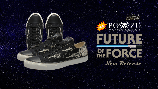 Po-Zu | Shoot for the Stars with the New Star Wars: X-Wing Black Sneakers