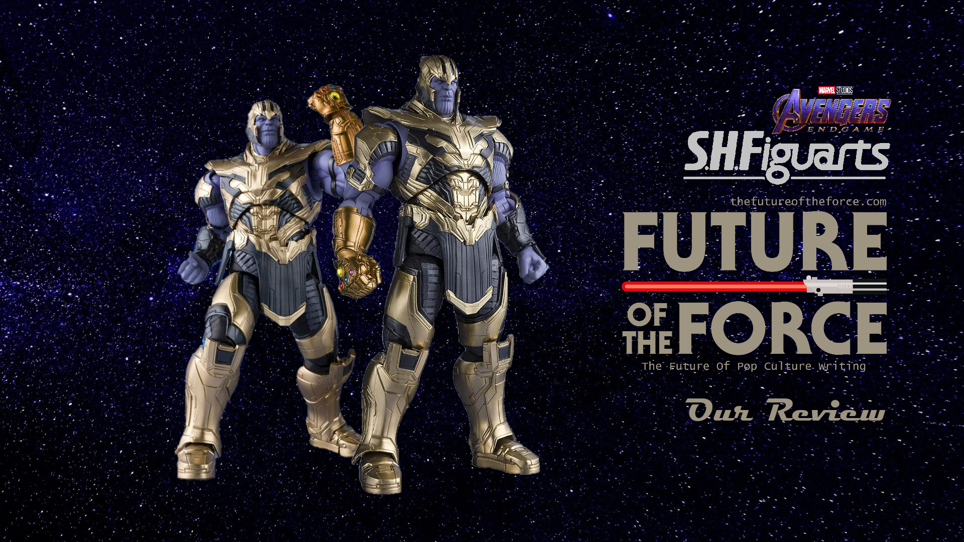 S.H Figuarts Review | Thanos (Avengers Endgame)