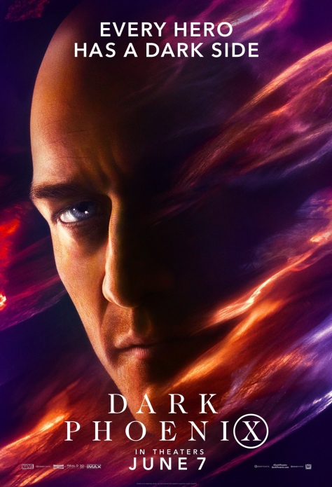X-Men   New Character Posters For Dark Phoenix Reveal Every Hero Has a Dark Side