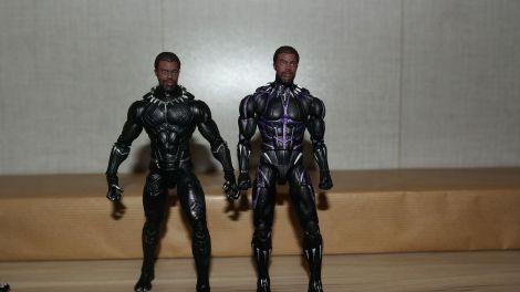 Marvel Legends Review   Black Panther (Vibranium) Avengers: Infinity War