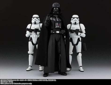 S.H Figuarts Darth Vader (Return of the Jedi) Reveal 2