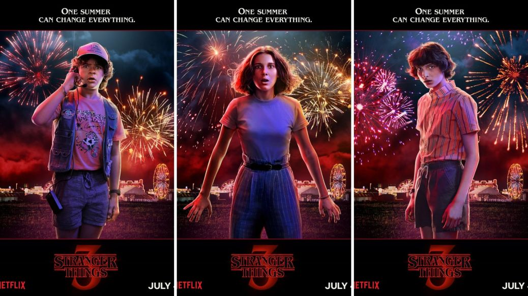 The Summer of Dread? | The New Posters for Stranger Things 3 Have Arrived