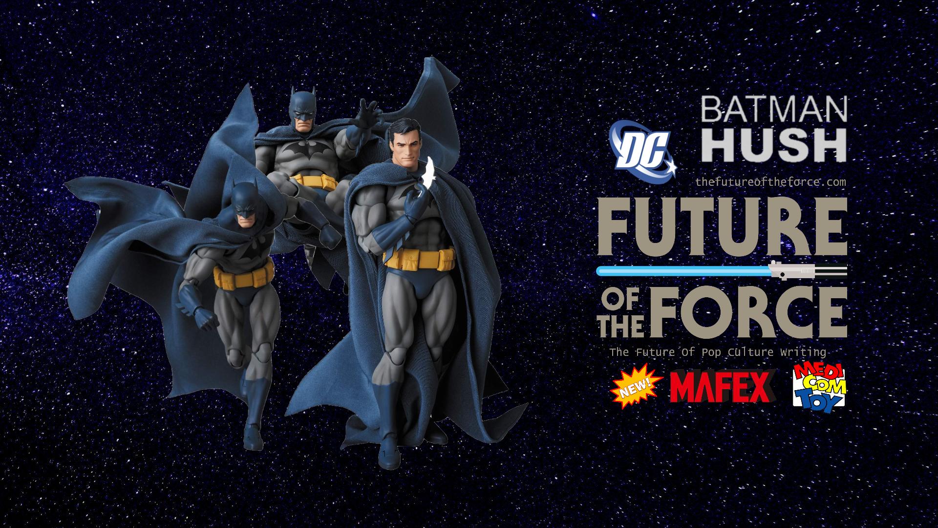 First Look | DC Comics Batman: Hush (Medicom: MAFEX No.105)