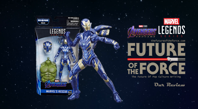 Marvel Legends Review | Rescue (Avengers Endgame)