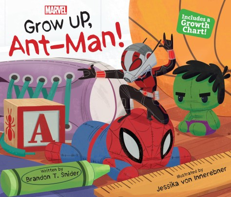 Book Review   Grow Up, Ant-Man