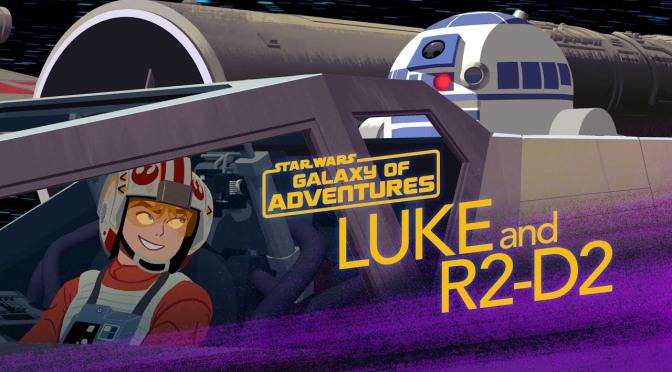 Star Wars: Galaxy of Adventures   R2-D2 – A Pilot's Best Friend