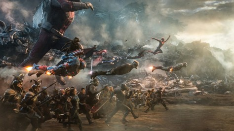 Avengers Endgame finale