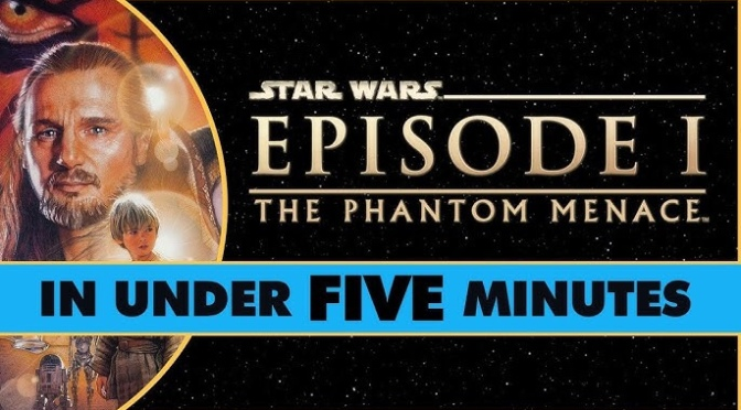 Star Wars In Under Five Minutes | Star Wars: The Phantom Menace