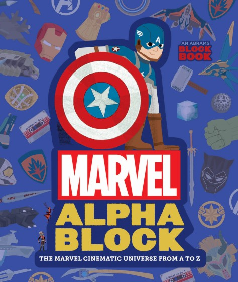 Marvel Alphablock Cover
